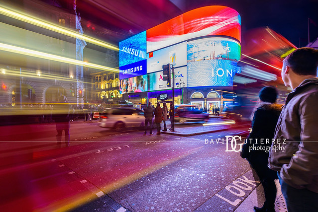 Traffic - Piccadilly Circus, London, UK