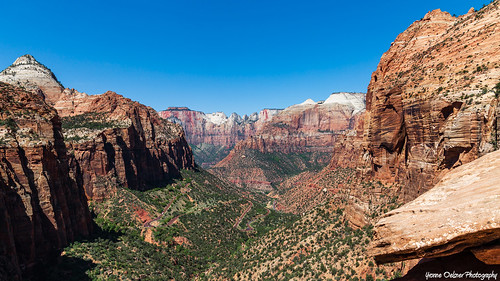 canyonoverlook zion nationalpark utah landscape scenery view mountains hiking outside sky nature