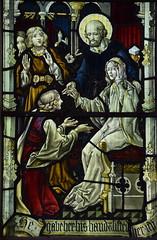 St Peter raises Dorcas from the dead (Ward & Hughes)