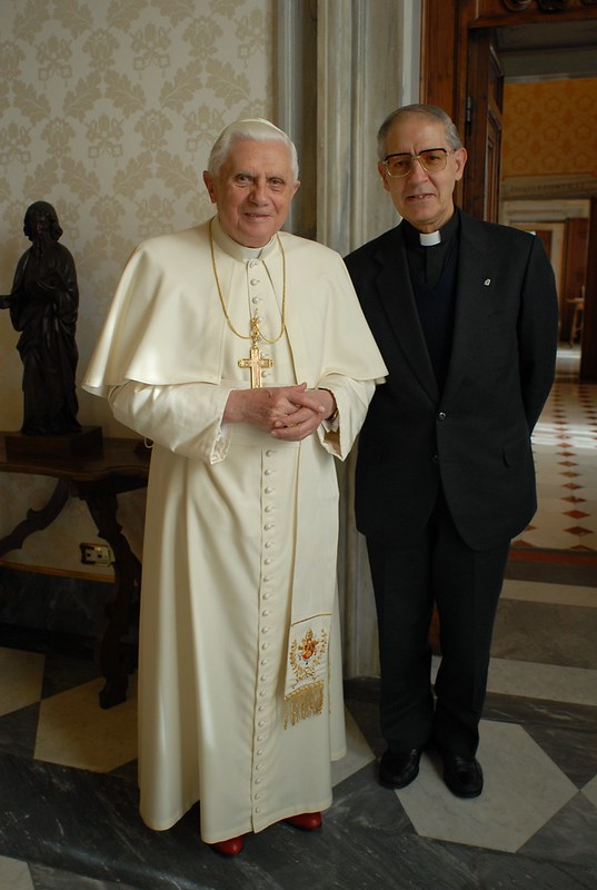 Benedicto XVI y Nicolás