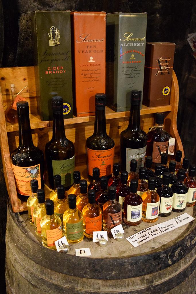 Vintage Cider Brandy at The Somerset Cider Brandy Company