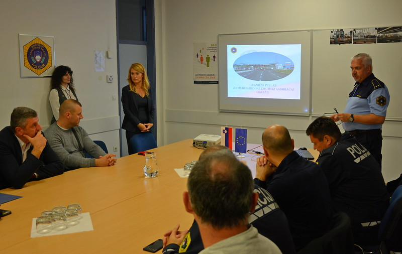 Study visit of Serbian representatives to Slovenia on patrol management