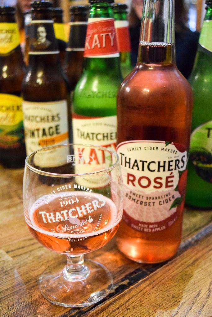 Thatcher's Rose Cider