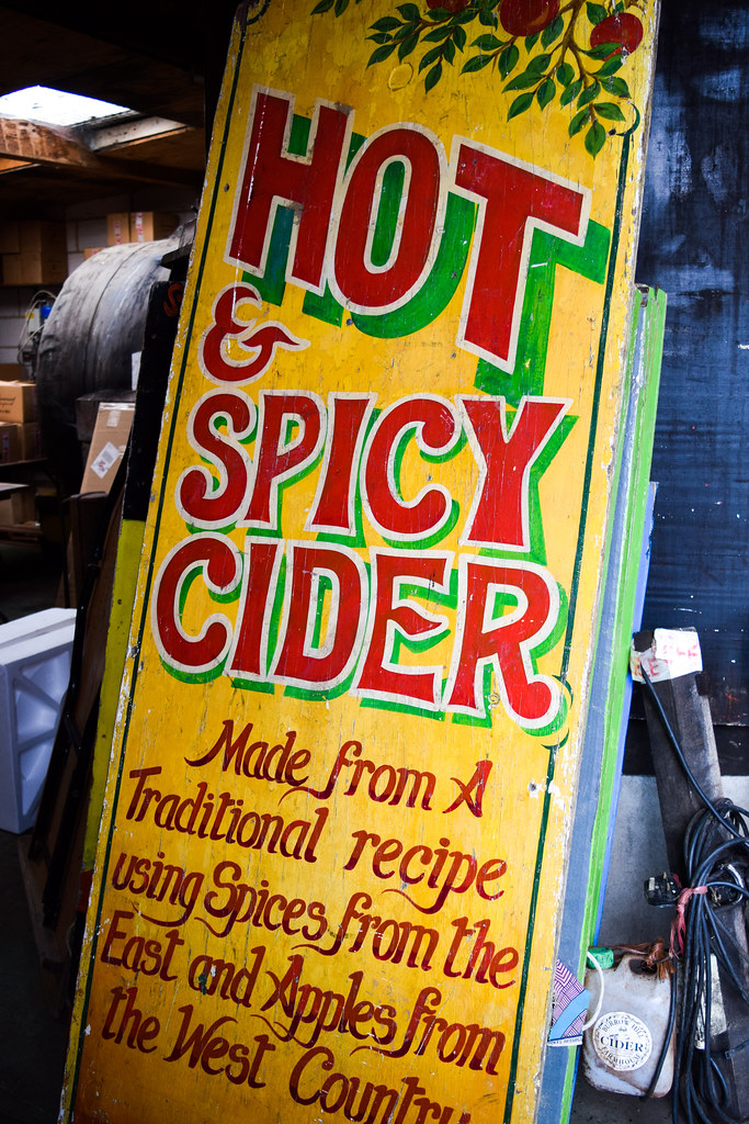 Hot & Spicy Cider at The Somerset Cider Brandy Company
