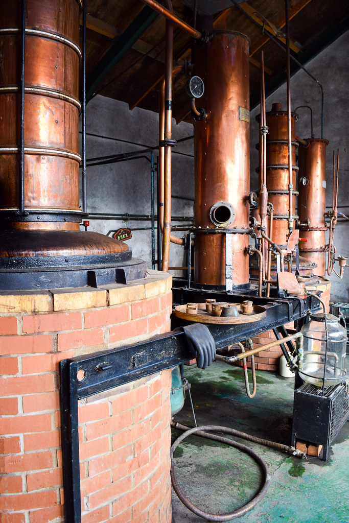 Copper Stills at The Somerset Cider Brandy Company