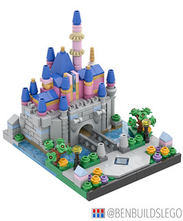 Micro Lego Sleeping Beauty Castle (2)