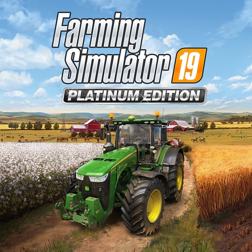 Thumbnail of Farming Simulator 19 - Platinum Edition on PS4