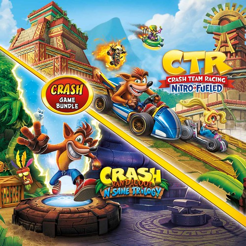 Thumbnail of Crash Bandicoot Bundle - N. Sane Trilogy + CTR Nitro-Fueled on PS4