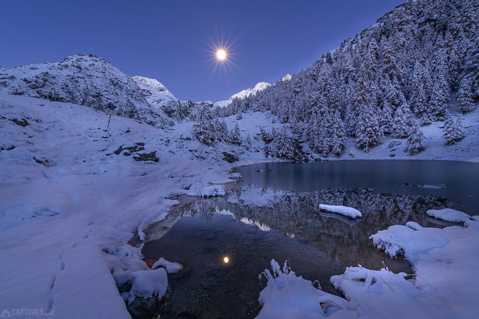 Moonlight - Lac Bleu