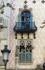 It's all in the details:  Casa Amatller (1898-1900), Passeig de Gràcia, Barcelona