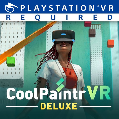 Thumbnail of CoolPaintrVR Deluxe Edition on PS4