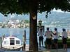 Lago d´Orta s ostrůvkem San Giulio, přístaviště, foto: Petr Nejedlý