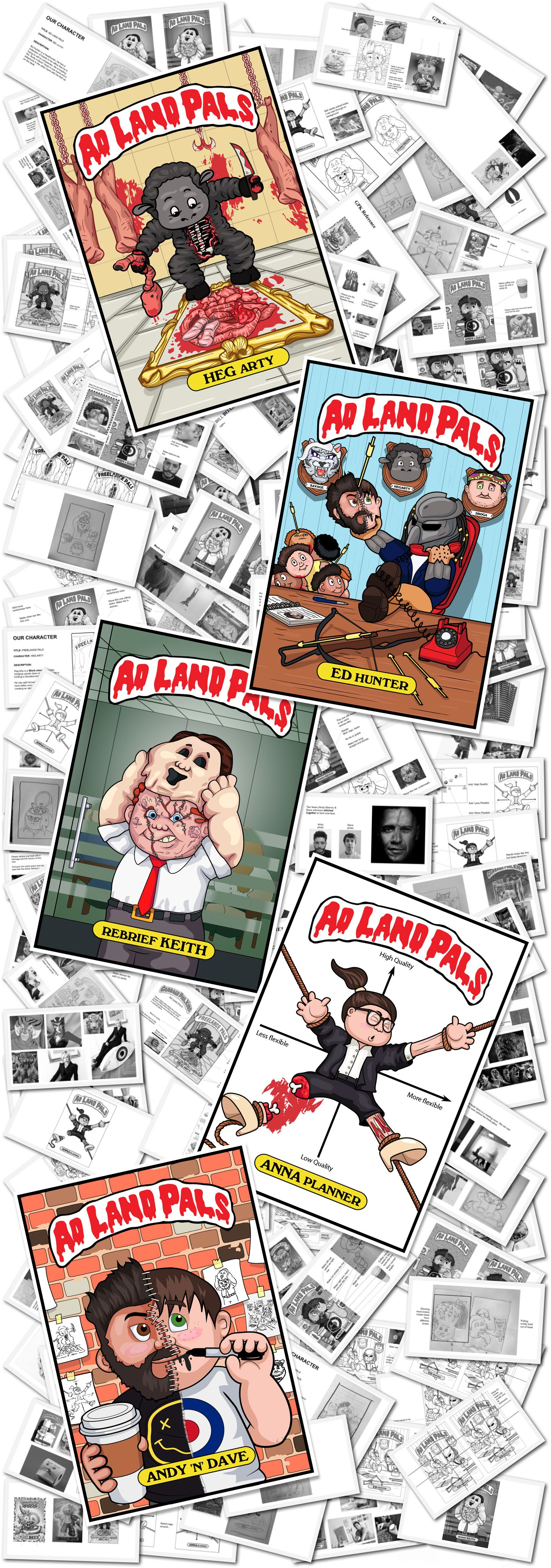 Ad Land Pals Collage