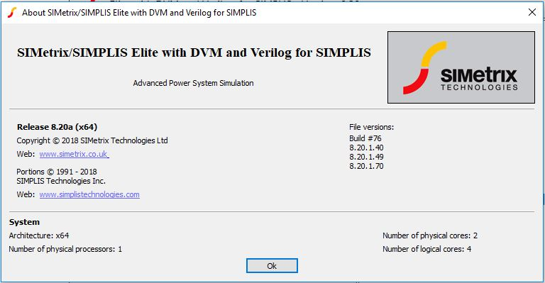 SIMetrix-SIMPLIS Elite v8.20a x64 full