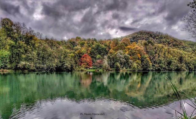 L'autunno avanza lungo il fiume Adda