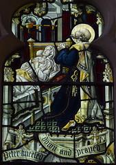 St Peter prays over the dead Dorcas (Ward & Hughes)