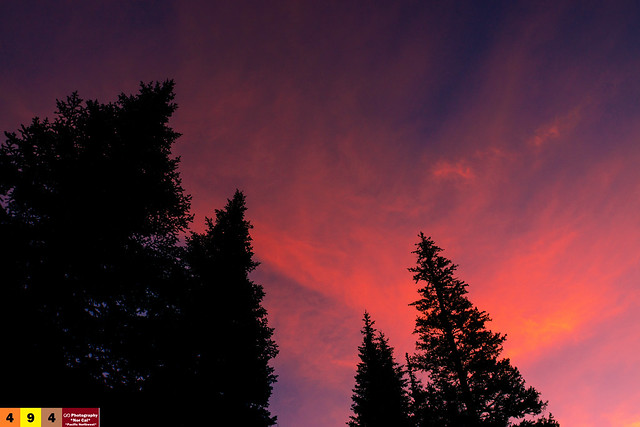 A Pacific Northwest Sweet Morning Crush: A Dramatic Sunrise (Part 118): Positive Vibes From Above... (In Technicolor)