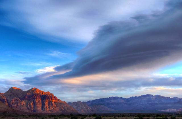 Lenticular Cloud Mojave Morn