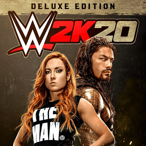 Thumbnail of WWE 2K20 Deluxe Edition on PS4
