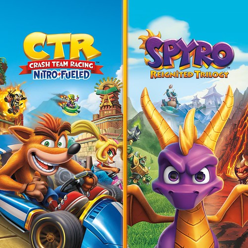 Thumbnail of Crash Team Racing Nitro-Fueled + Spyro Game Bundle on PS4