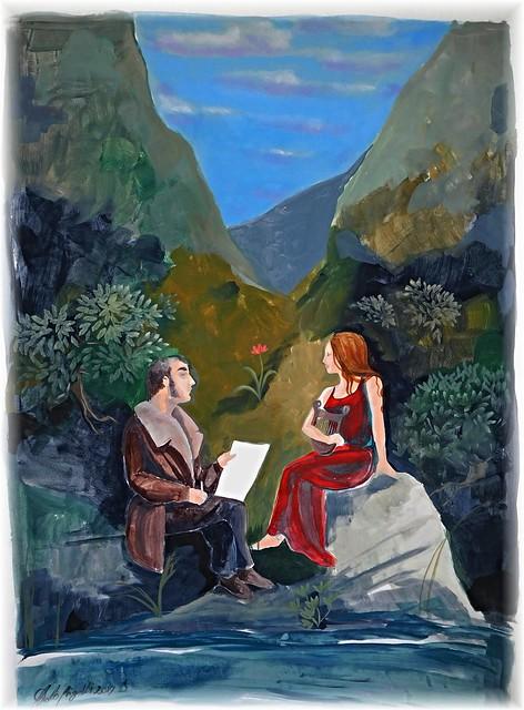 Conversazione sull'arte (W.Turner e Lorelei)