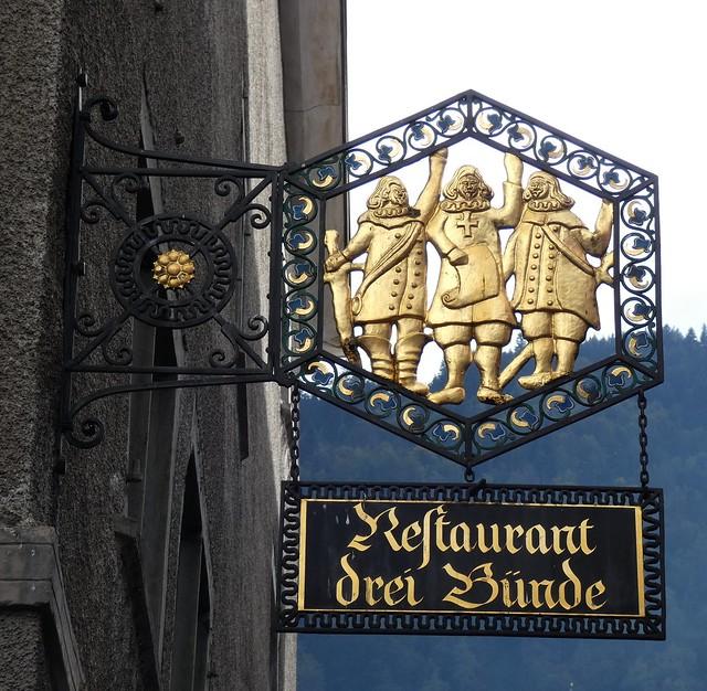 Chur- Restaurant 'Drei Buende'