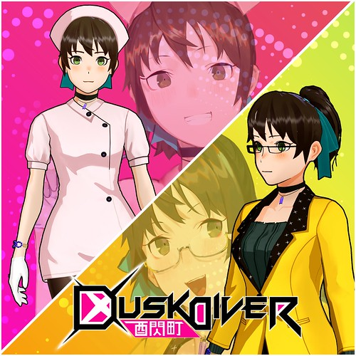 Thumbnail of Dusk Diver - Angel in White & News Anchor Costume on PS4
