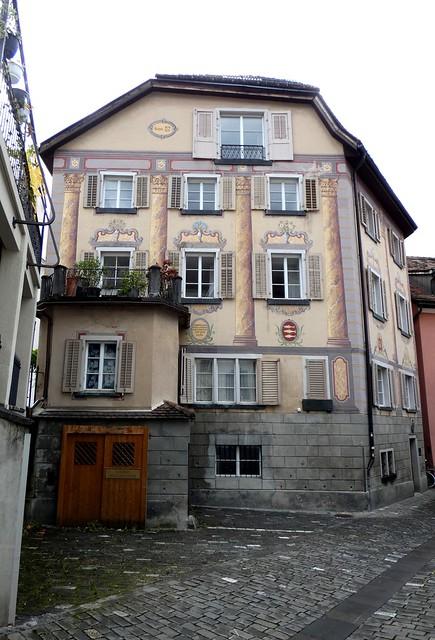 Chur- Original House of the Schauenstein Family circa 1450