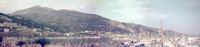 The scenery of Nice