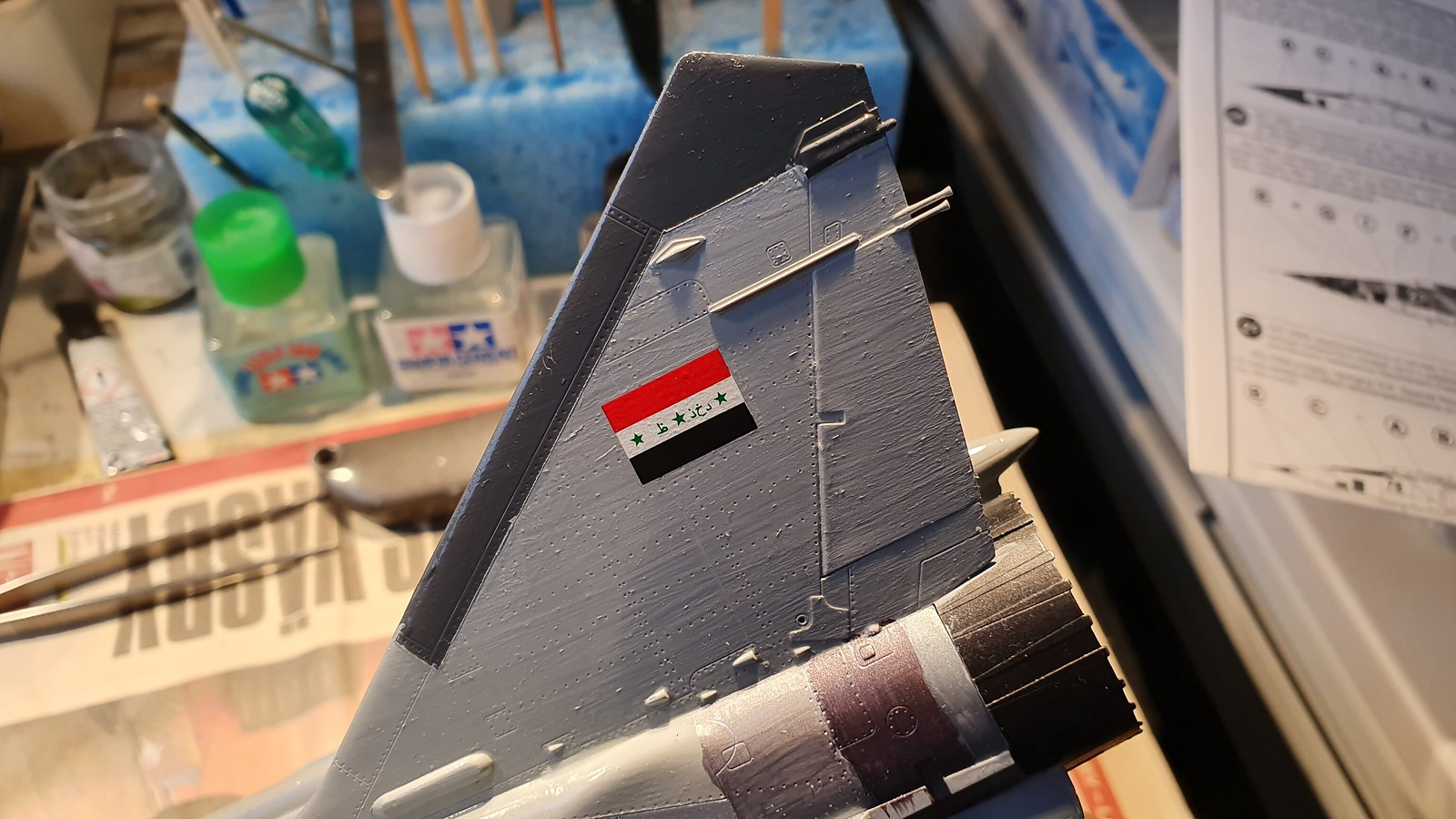 MiG-25BM Iraqi Air Force 1988 - ICM/Revell 1/48 + extra - Färdig! - Sida 7 48936313673_0b181736f6_h
