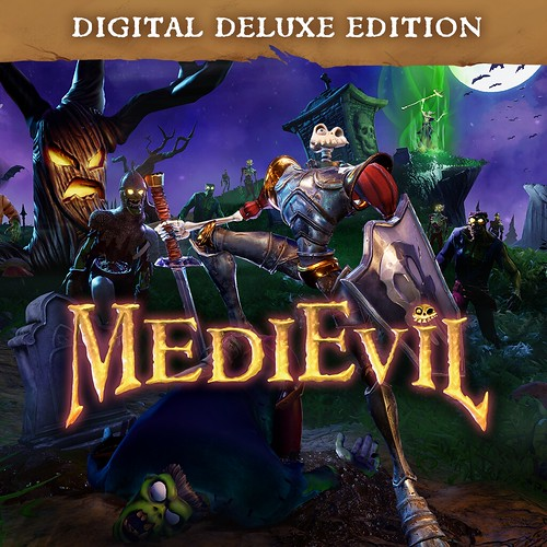 Thumbnail of MediEvil Digital Deluxe Edition on PS4