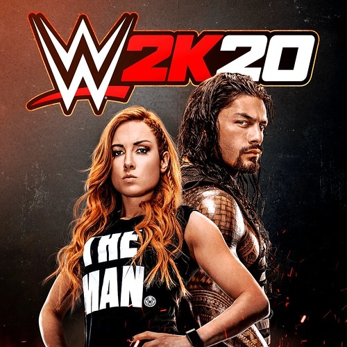 Thumbnail of WWE 2K20 on PS4