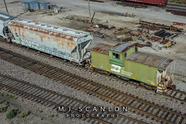 BN 12385 | Caboose | BNSF Jonesboro Yard