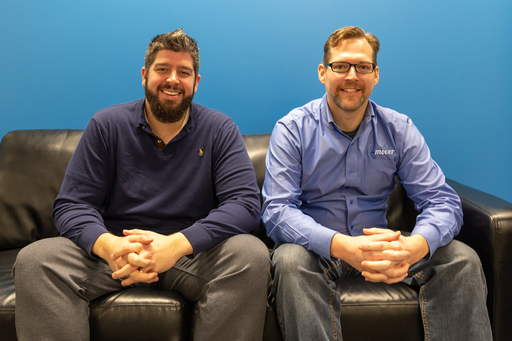 Mover co-founders Eric Warnke and Mark Fossen