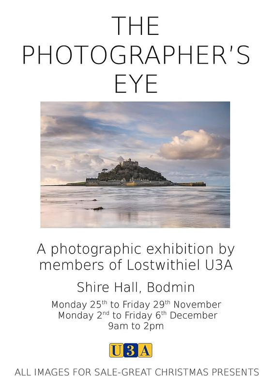 Lostwithiel U3A Phtography Exhibition