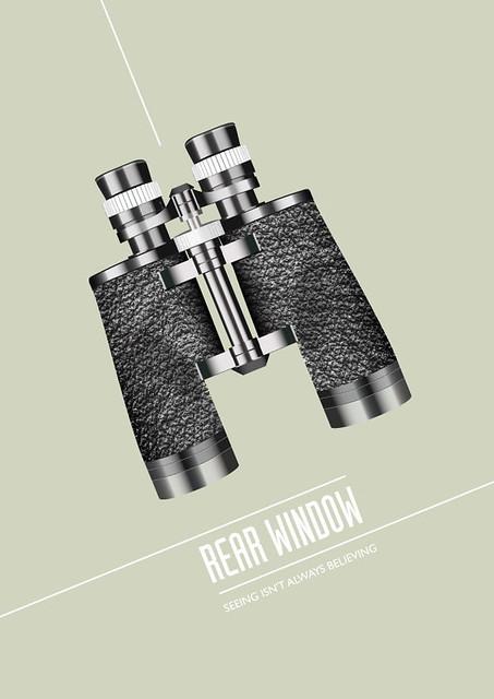 Rear Window - Alternative Movie Poster