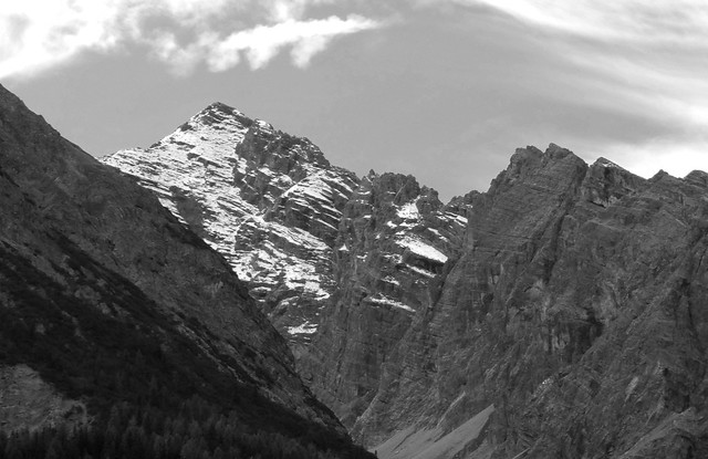 View of Mountains from Scuol