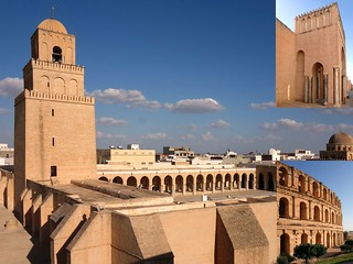 Appropriation. The Grand Mosque of Kairouan and the Amphitheatre of Thysdrus (el-Jem), Tunisia