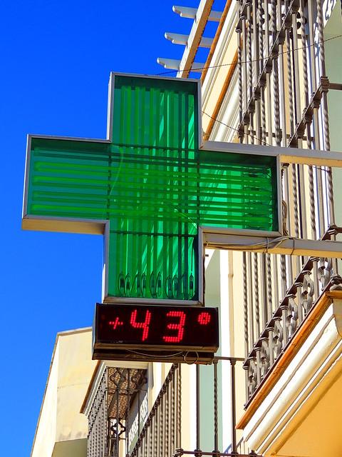 <¡¡Uffff que calor¡¡ Lebrija (Sevilla)