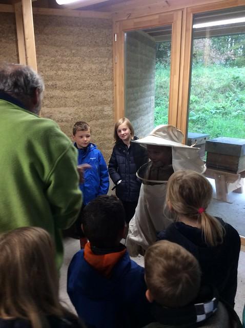 3de leerjaar - Op zoek naar kriebelbeestjes in de Helix