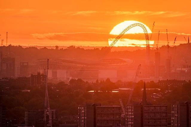 Wemvley Sunset
