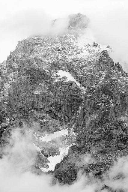 First snowfall of the season, Grand Teton National Park. September, 2019.