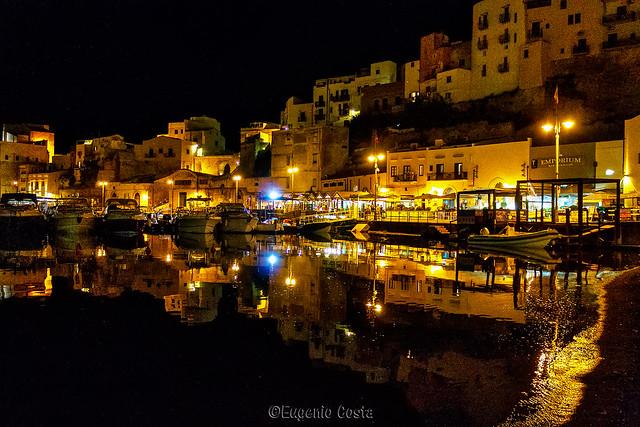 Castellammare del Golfo di notte - Castellammare del Golfo by night