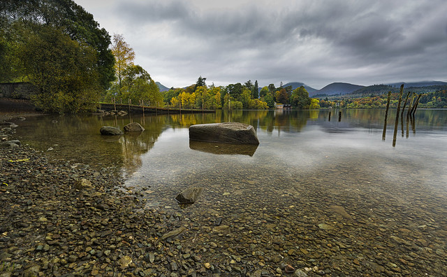 Derwent water before the deluge