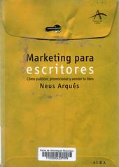 Neus Arqués, Marketing para escritores