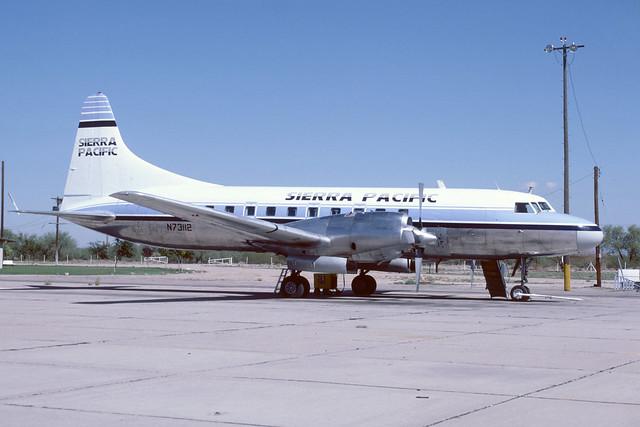 N73112 Convair 580 KMZJ 14-10-85