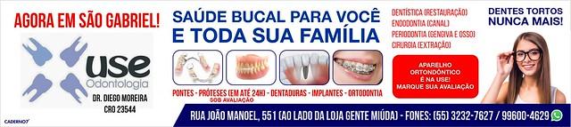 Use Odontologia em São Gabriel - saúde bucal para você e sua família