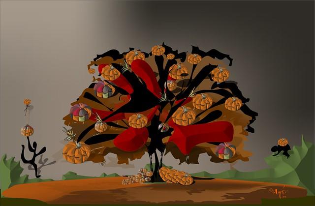 El árbol de las calabazas