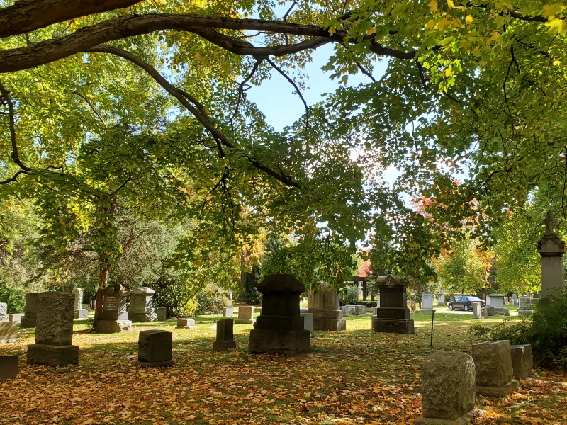 Mount Pleasant Cemetery Fall