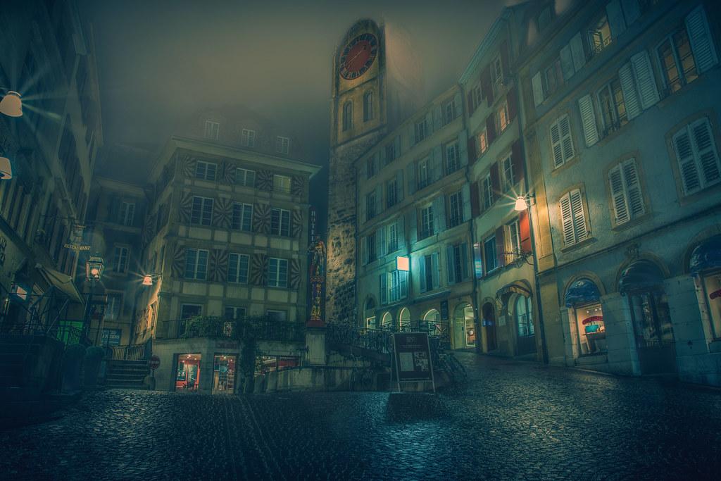 Neuchâtel de nuit CEP4